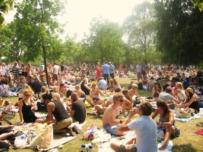 Årets midsommar firande i Hyde Park!
