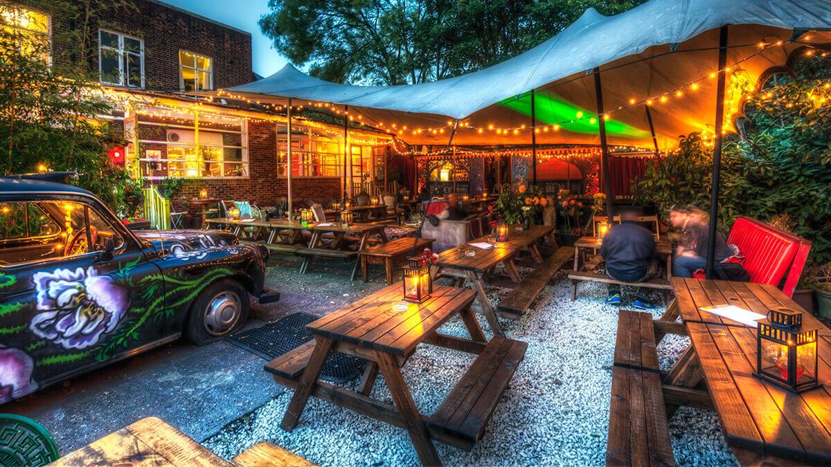 Londons bästa pubar (med beer gardens)