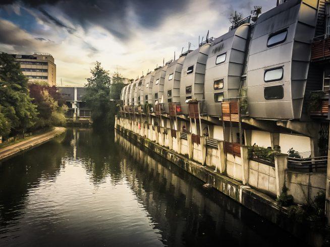 london waterfront