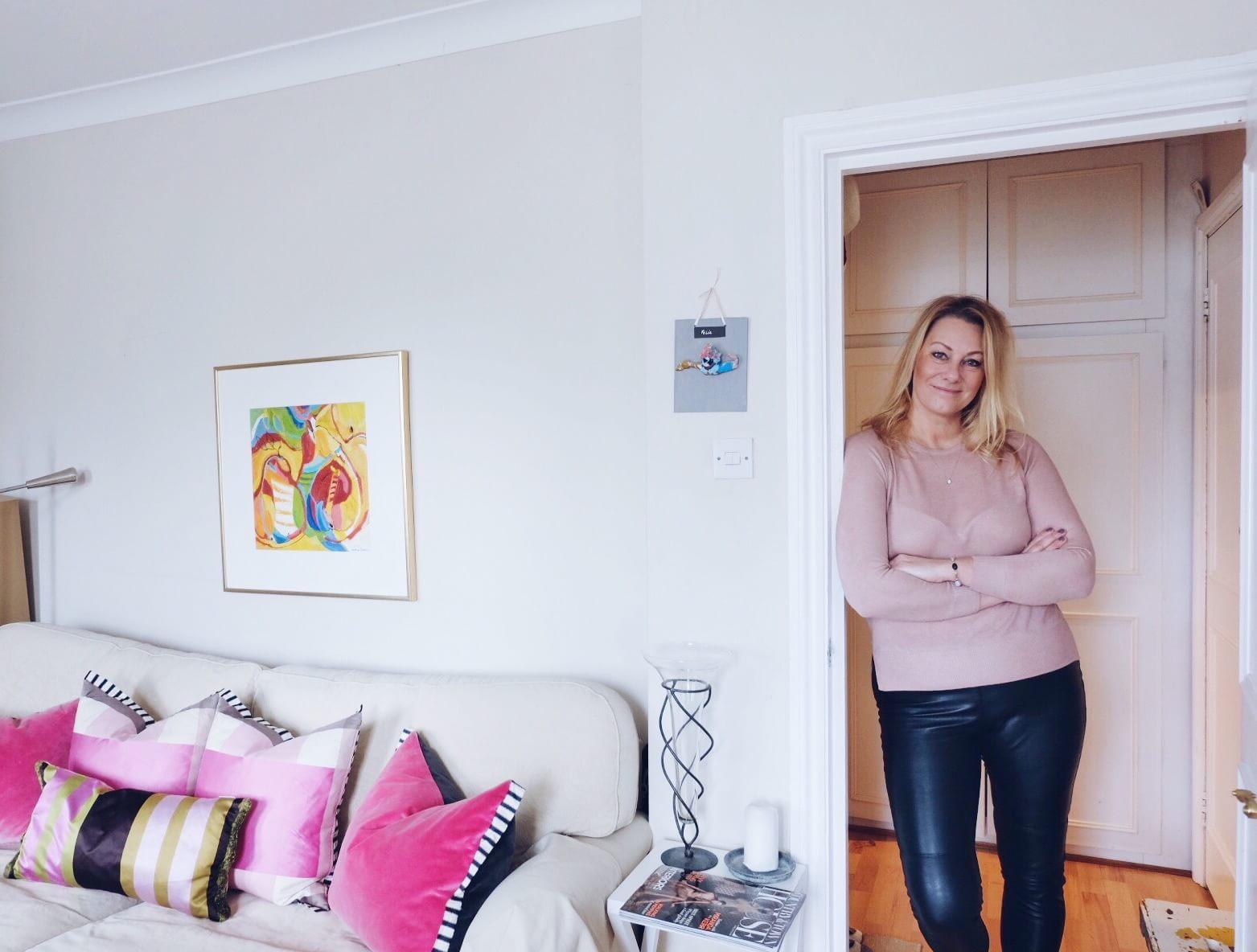 Hemma Hos Inredningsdesignern Annelie