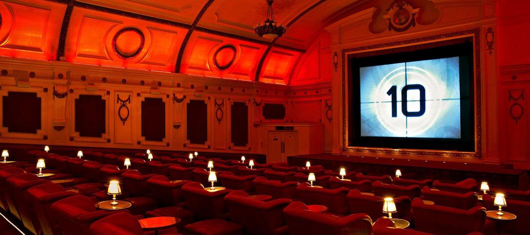 Londons bästa biografer