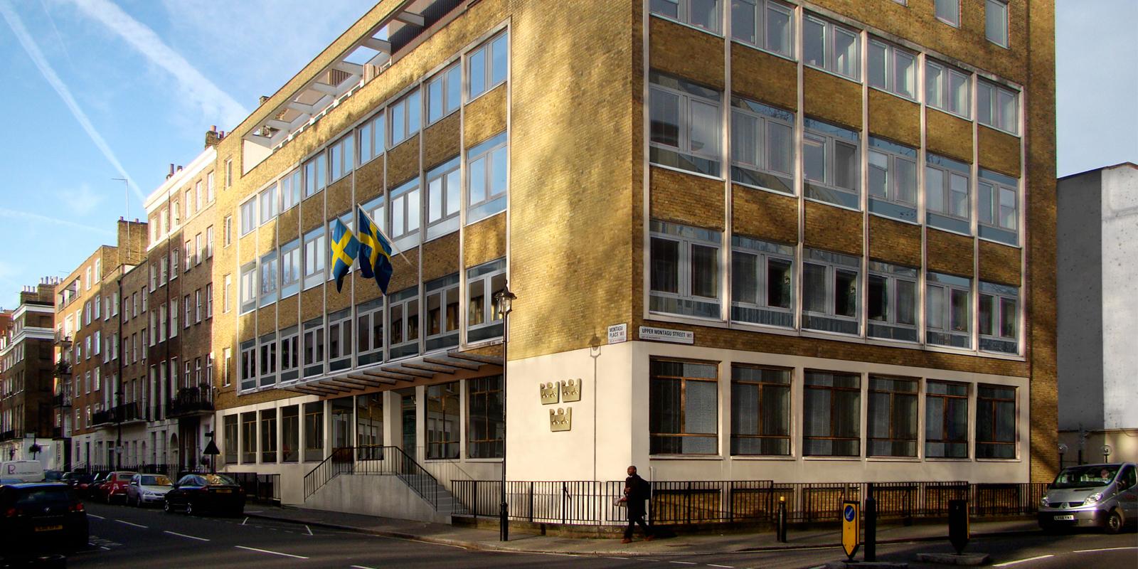 Media – och kommunikationsansvarig till svenska ambassaden