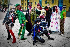 comic con london cosplay