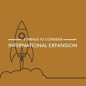 Four tips for expanding internationally